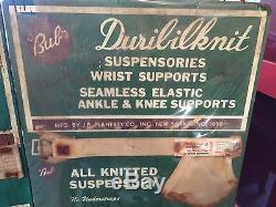 1950's Vintage advertising duribilknit Jock Strap Displays