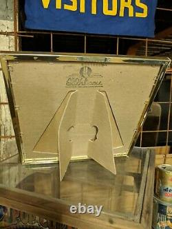 1980s Ray Ban Mirror Sign Store Display NOS With Box Sunglasses Aviator Glasses