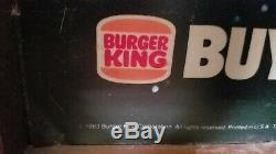 1983 Vintage Star Wars Burger King Glasses ROTJ Translite display sign Jedi