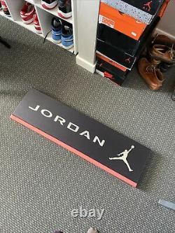 36 x 11 Aluminum Jordan Sign/retro Store Display Michael Jordan 23 Nike