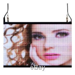 39x14 programmable LED Sign Store Window Display Images Thumb Drive Upload
