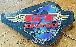 90's GT DYNO BMX BICYCLES store display neon sign