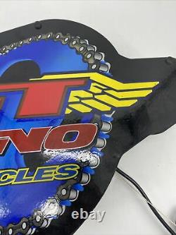 90's GT DYNO BMX Bikes Store Display Neon Sign Fallon Does Not Light Up