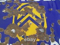 AP056 PLAQUE EMAILLEE CITROEN POSTE n° 2645 60X46cm ENAMEL PORCELAIN SIGN