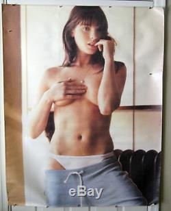 Abercrombie & Fitch Store Display Poster Female RARE Canvas