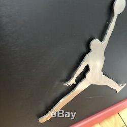 Air Jordan Jumpman 36x10 Store Display Metal Fixture Sign