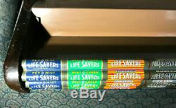 Antique Lifesavers Candy 4 Shelf Store Display Signage Vintage Bakelite VG Cond