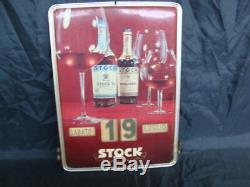 Calendario Perpetuo Stock 84 Royal Stock Vintage Old Sign Bar Italy
