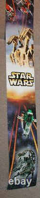 Classic Star Wars LEGO Episode 1 48in Store Display Sign Rare (Dpuble Sided)
