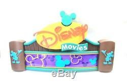DISNEY MOVIES VIDEOS KIOSK STORE SIGN DISPLAY PROP 36 x 20