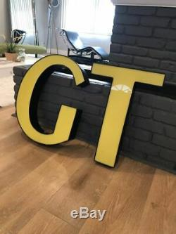 GT BICYCLES store display LED sign mancave basement garage sign