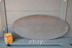 Grande plaque émaillée BUGATTI 63 cm enamel sign emailschild