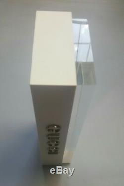 Gucci One Piece Display Logo Plaque In White Plexiglass