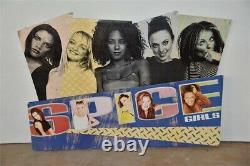 HUGE Spice Girls Promo Record Store Cardboard Display Poster Sign 36 x 26