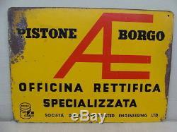 INSEGNA PISTONE BORGO sign