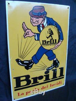 Insegna Brill la perla dei lucidi per scarpe old sign italy