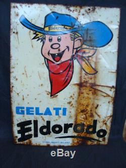 Insegna Gelati Eldorado old sign