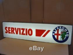 Insegna Luminosa Servizio Alfa Romeo Sign Neon
