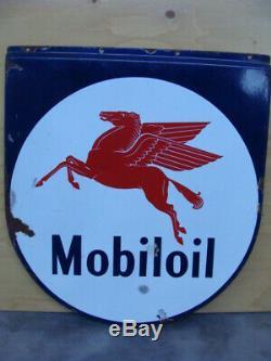 Insegna Mobiloil SIGN MOBIL OIL