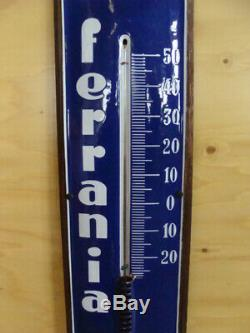 Insegna Termometro Ferrania old sign