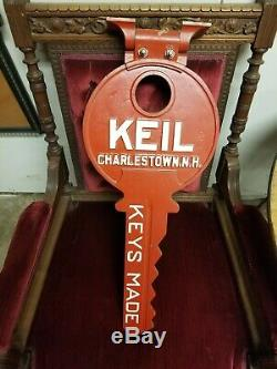 Keil Antique Key Store Display/keys Made Sign/hardware/country Store/nh