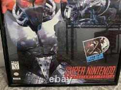 Killer Instinct Super Nintendo SNES Original Store Display Poster Sign 28 X 40