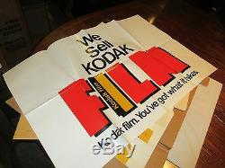 Kodak, Promotion Advertising Kit, New In Box, Boxes, Signs, Decals, Vintage