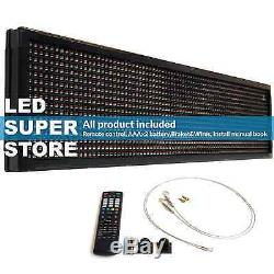 LED SUPER STORE 3C/RBP/IR/2F 15x40 Programmable Scroll. Message Display Sign