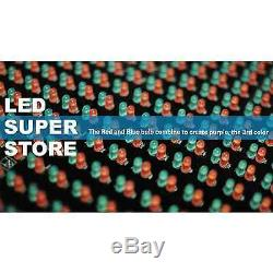 LED SUPER STORE 3C/RBP/IR/2F 19x52 Programmable Scroll. Message Display Sign