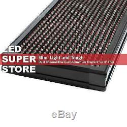 LED SUPER STORE 3COL/RGY/IR 15x66 Programmable Scrolling EMC Display MSG Sign
