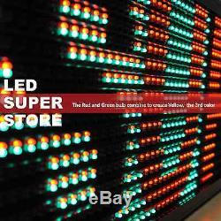 LED SUPER STORE 3COL/RGY/IR 22x136 Programmable Scrolling EMC Display MSG Sign