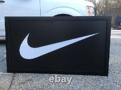 Large Nike Light Up Sign dIsPlaY sToRe fIxtUrE jOrDaN rEtRo 1 I lE pE lE
