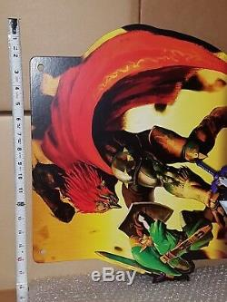 Legend of Zelda Ocarina of Time 3D Store Display Sign Standee Advertising Promo