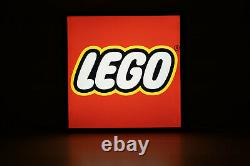 Lego store sign
