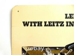 Leica Advertising Sign for Safari 22.75x15 Poster Nr. 632 Printed in W-Germany