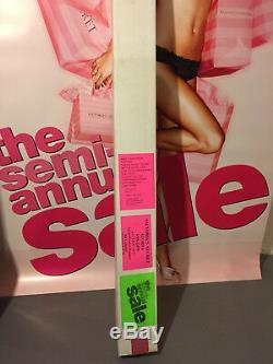Lot 2 Victoria's Secret Posters Window Display Alessandra Ambrosio Pair 5x7 HUGE