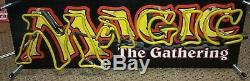 MAGIC The Gathering VINTAGE NEON LIGHT Retail Store DISPLAY SIGN Promotional MTG