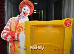 McDonalds Ronald McDonald store Toy display case for Happy Meal toys Rare