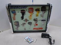 Mercury Outboard Motors LED Store/Rec Room Display light up SIGN