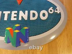 N64 Store display light sign Kiosk Nintendo 64 store