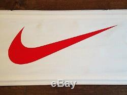 NIKE Store Shoe Sign Banner 46 Swoosh Nice Original Sporting Goods rare