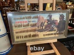 NOS New Old Stock SPEER Gun Bullet Retail Display Watch Video