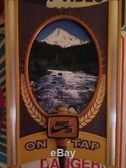 Nike Sb On Tap Light Up Neon Sign Promo Dealer Display Sign