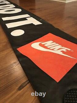 Nike Vintage JUST DO IT Display Banner Poster Store Display Sign Retro Jordan