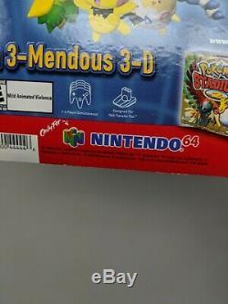 Nintendo 64 N64 Pokemon Stadium 2 Store Display Sign Promo Promotional Standee