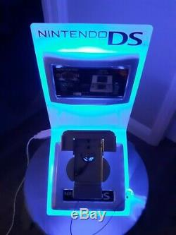 Nintendo DS Retail Store Display Kiosk NDS Electric Blue Sign
