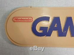 Nintendo GAMEBOY Game Boy Sign Store Display Advertisement