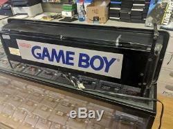 Nintendo Gameboy Game Boy Sign Store Display Superbrite Light-Up Sign Official