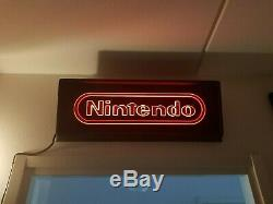 Nintendo NES 35R Sign Store Display Superbrite