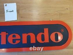 Nintendo NES SNES N64 Game Boy Gameboy Store Display Sign